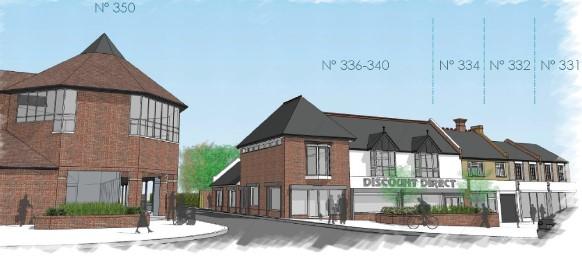 336-340 High Road, Harrow Weald